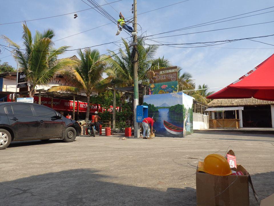 Alumbrado publico aldea monterrico municipalidad de taxisco - Oficina municipal del taxi ...